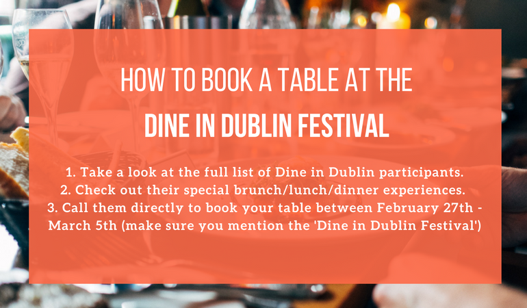 Dine In Dublin new