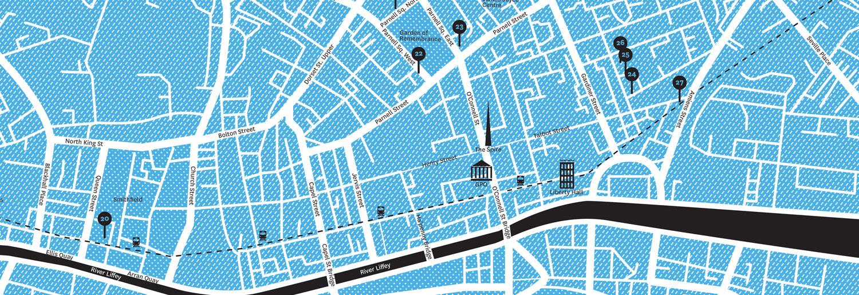 Interactive Map of Art Gallery Dublin