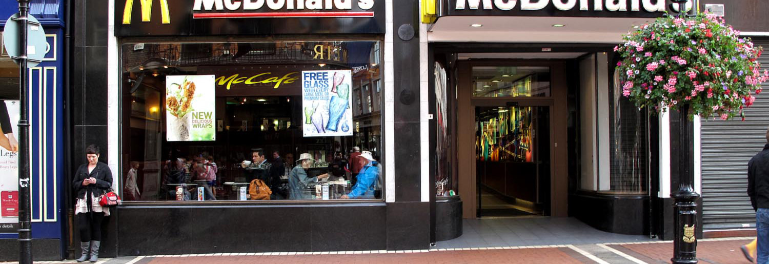 McDonald's in Dublin Town