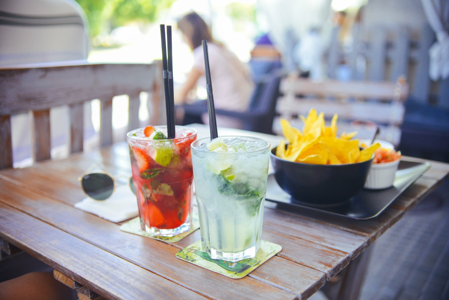 Care to step outside? Great beer gardens & outdoor seating