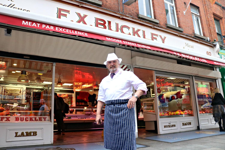 Paddy Buckley of FX Buckley – 45 years on Moore Street