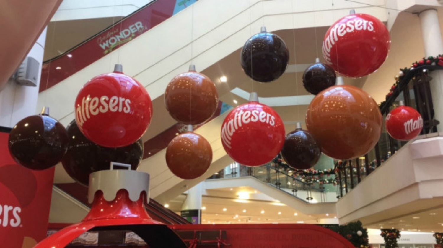 Maltesers open their first ever Christmas Pop-Up in Arnotts
