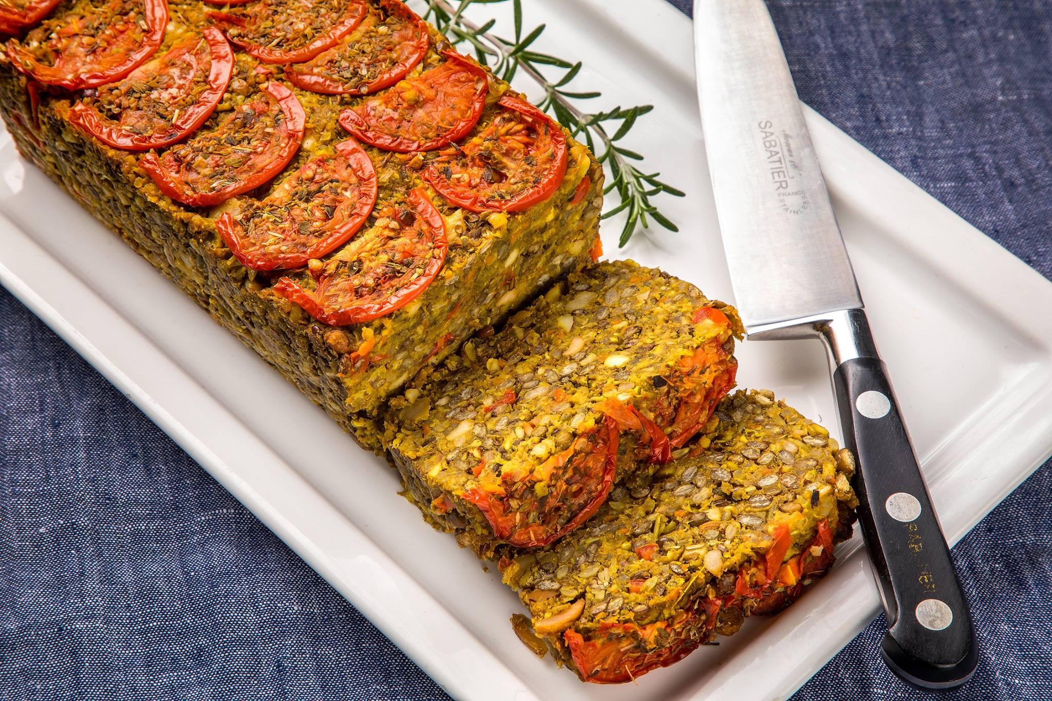 Vegan Nut Roast & Mince Pies from Blazing Salads