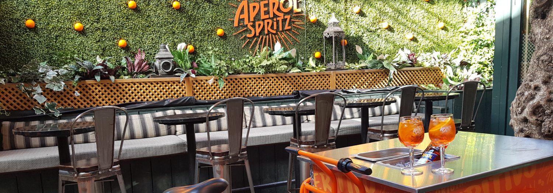 An Aperol Spritz Terrace is Now Open at NoLIta